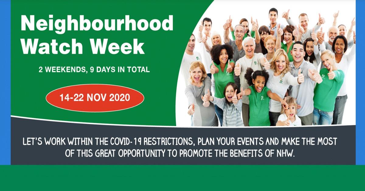 Neighbourhood Watch Week 2020